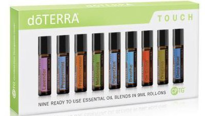 DoTERRA Touch - Nine Ready to use Essential Oil Blends