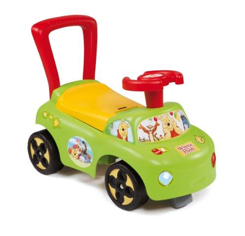 Smoby - 443004 - Vélo et Véhicule pour Enfants - Porteur Voiture - Winnie