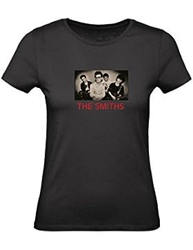 Social Crazy T-shirt DONNA cotone BASIC super vestibilità top qualità - THE SMITHS - divertente humor MADE IN...