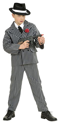 Kostüm Italienische Mob (Kinder-Kostüm-Set Gangster, Größe)