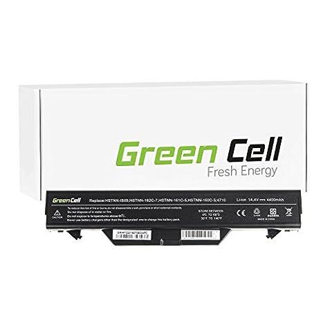 Green Cell® Standard Série Batterie pour HP ProBook 4515s/CT Ordinateur PC Portable (8 Cellules 4400mAh 14.4V Noir)