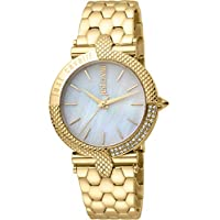 Just Cavalli Animalier Women's Mother of Pearl Dial Stainless Steel Analog Watch - JC1L105M0085