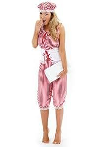 Costume da bagno anni 20 30 adulto donna taglia unica - Costume da bagno anni 30 ...