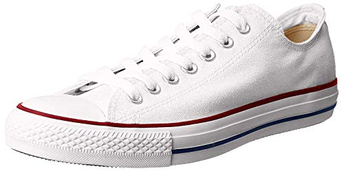 Converse Chuck Taylor All Star Season Ox, Zapatillas de Tela Unisex Adulto, Blanco, 37 EU