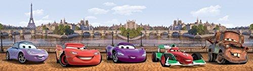 1art1 Cars - Cars Selbstklebende Fototapete Poster-Tapete Bordüre 500 x 10 cm
