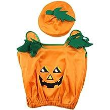 BESTOYARD Disfraces de calabaza de Halloween Unisex niños lindos trajes de  Cosplay fiesta de niños vestido 61c606b88b29