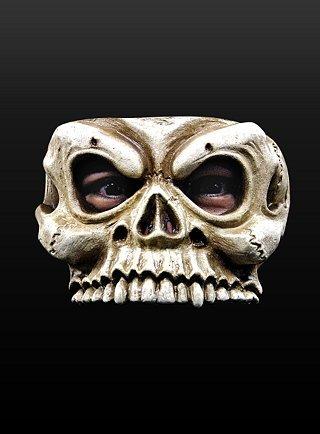 Kostüm Halloween Skelettschädel Maske
