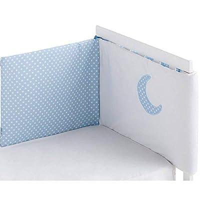 Edredón desenfundable + Protector desenfundable 60/70/80 (43x185 cm) + Cojín MOON