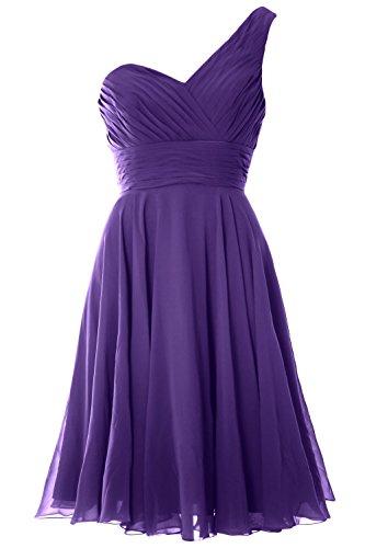 MACloth - Robe - Asymétrique - Sans Manche - Femme Violet - Violet