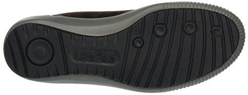 Legero Damen Tanaro Hohe Sneaker Braun (Ebony)