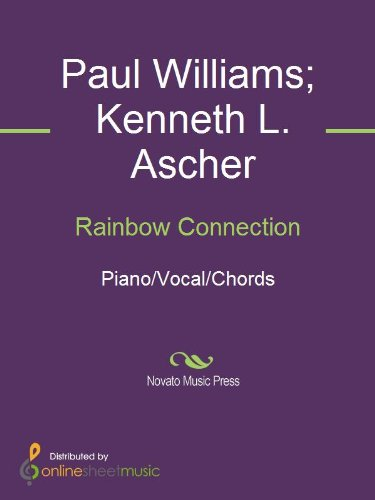 Rainbow Connection Ebook Kenneth L Ascher Paul Williams Peter