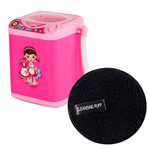 Make-up Pinsel Puff Cleansing Cotton Automatische Reinigung Waschmaschine, Elektronische Mixer Reinigung Make-up Remover, Pinselreiniger Gerät Dehydrator Maschine Mini Toy und Cleansing Puff (#3)