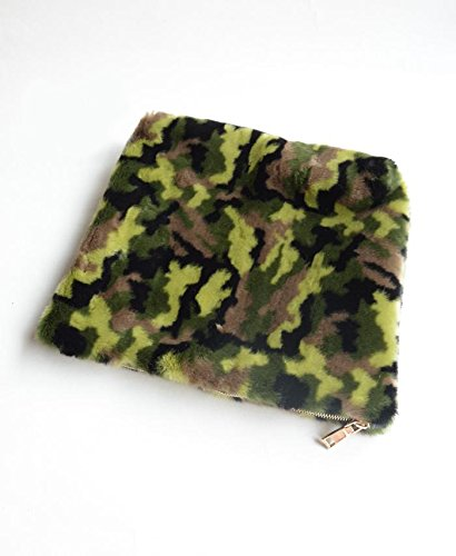 Zarapack - Borsetta senza manici donna (camouflage)
