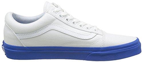 Vans Unisex-Erwachsene Old Skool Reissue Sneakers Blau ((mlx) True White/strong Blue)