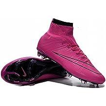 Allison zapatos de hombre botas de fútbol MERCURIAL Superfly FG Fútbol, hombre, rosa, 40