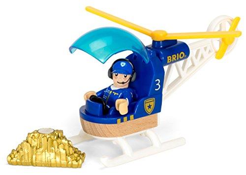 BRIO World - 33828 - HELICOPTERE DE POLICE