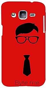 PrintVisa Boy Quotes Nerd Case Cover for Samsung Galaxy J2