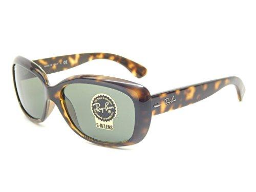 New Ray Ban Jackie Ohh RB4101 710 Light Havana/G-15 XLT 58mm Sunglasses