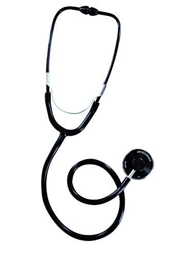 Spengler Stethoskop, einfacher Schalltrichter, für Erwachsene, Schwarz