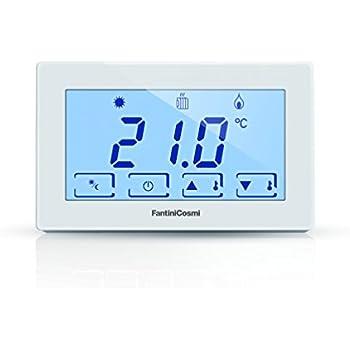 Fantini cosmi ch120 termostato ambiente a batterie con for Cronotermostato fantini cosmi ch180