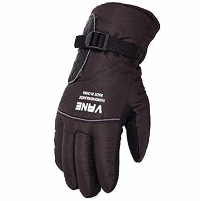 Skifahren Handschuhe Warme wasserdichte Handschuhe Ski Gear Fahrradhandschuhe, 10