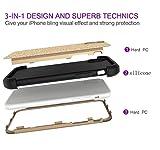 QINPIN TPU Bumper Glitter Sparkle Stars Bling Schutzhülle für iPhone XS MAX 6.5inch/XS 5.8inch/XR 6.1inch