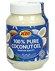 KTC 100 Percent Pure Coconut Oil, 500 ml