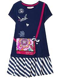 Desigual Girl Knit Dress Short Sleeve (Vest_Carson), Vestido para Niñas