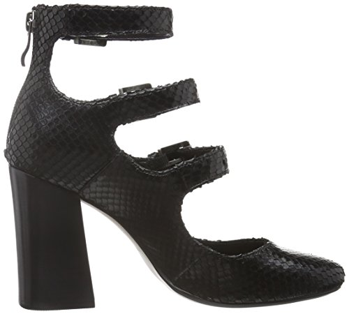 Bronx Damen Aleza Pumps Schwarz (Black 01)