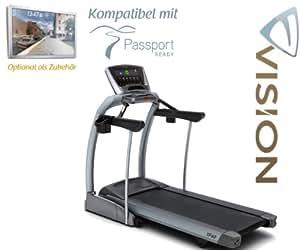 Vision fitness tF 40 elegant tapis de course-compatible passport ready