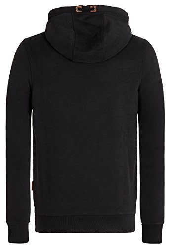 Naketano Male Hoody Kobragurke Pimped IV Black