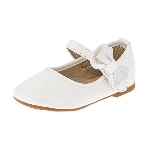 Max Shoes, Ballerine bambine, bianco (#266ws Weiß), 25