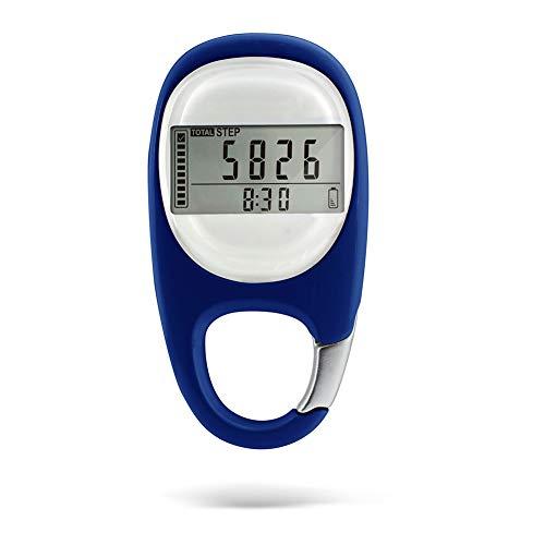 Leobtain Schrittzähler Verfolgen Sie Schritte Genau 3D Silent Induction Tragbarer Sport Schrittzähler Schritt Entfernung Kalorien Zähler Fitness Tracker Kalorie Zähler - Sie Einfach Bewegen Ps4 Die