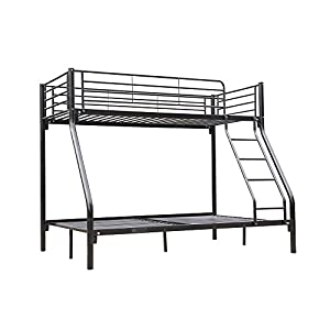 Homegear Triple Sleeper Metal Bunk Bed