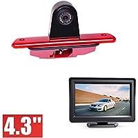 Farb R/ückfahrkamera Einparkhilfe Plugn Play geeignet f/ür Toyota RAV 4 2006-20012 Akhan CAM39