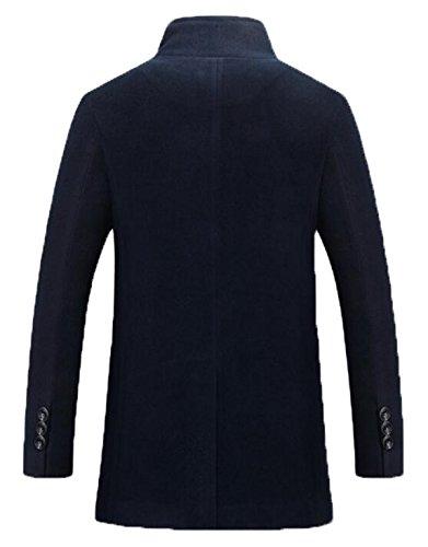 Hiver Manteau De Laine De Mode XXZTQ Hommes blue
