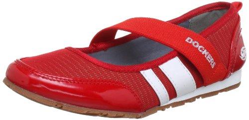 Dockers by Gerli 327114-352007, Mädchen Ballerinas, Rot (rot 007), EU 33