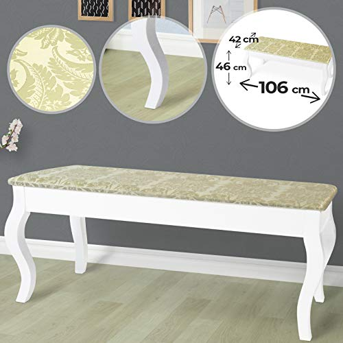 Miamodo DPSZ01 - Taburete tapizado Doble