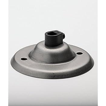 ROSACE DE PLAFOND | acier brut