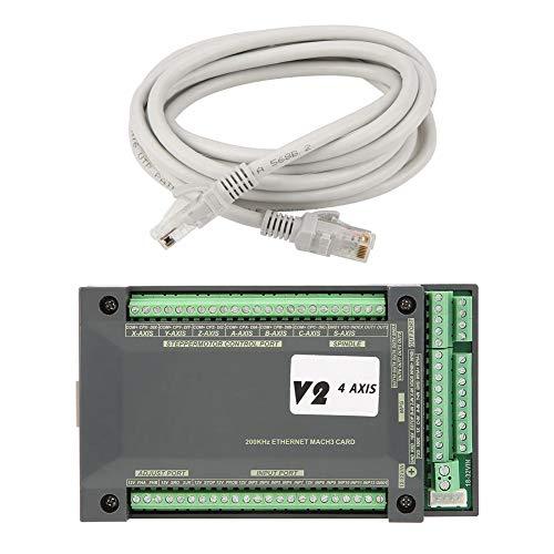4 Eje MACH3 Ethernet Interfaz Tarjeta de Control de Movimiento, NVEM CNC  Controlador 1pc