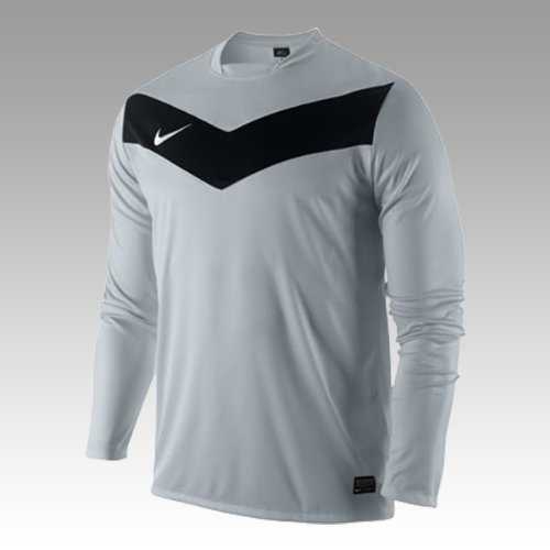 Nike Maglia Uomo Langärmiges Victory GD Jersey Silver/Black/White L 413149 070