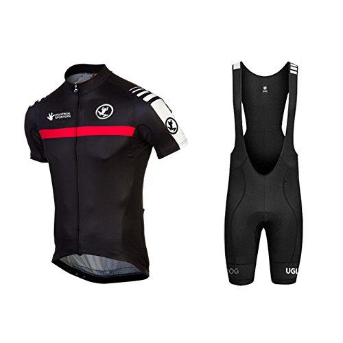 Uglyfrog 2018-2019 Bike Wear Summer Short Sleeve Radsport Trikots & Shirts+Bib Shorts Anzüge Radfahren MTB Jersey Triathlon Bekleidung