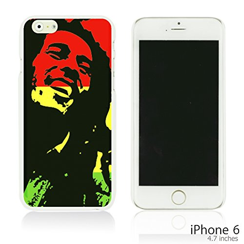 OBiDi - Art Paintings Hardback Case / Housse pour Apple iPhone 6 / 6S (4.7 inch)Smartphone - Vintage Painting Birds and Flowers Bob Marley