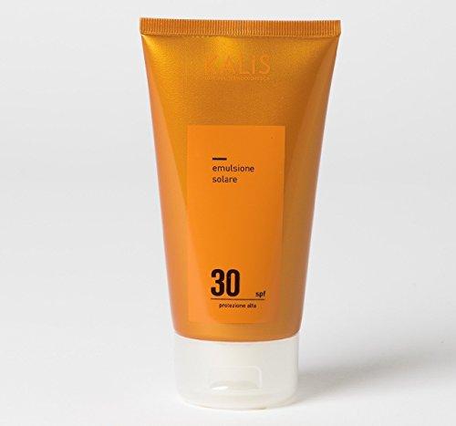 Dr Brunetta's Kalis hohen Schutz Anti-Aging Sonnencreme LSF 30 mit Jojoba, Vitamin C und Vitamin E. Natürliche und vegane Sonnenpflege aus Italien. 100ml -