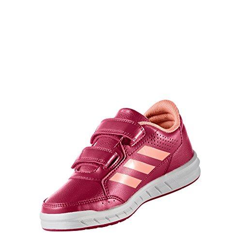 Adidas neo - Altasport cf k fushia - Chaussures scratch ENEPNK/SUNGLO/FTWWHT