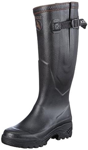 Aigle Parcours 2 Vario, bottes en caoutchouc adulte mixte - Noir - Schwarz (noir), 48 EU