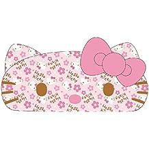 Kitty Face Tissue Case Japanese goods Series light pink / plum