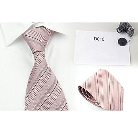 Classique Hommes Cravate En Soie Tissée De Mariage D'affaires