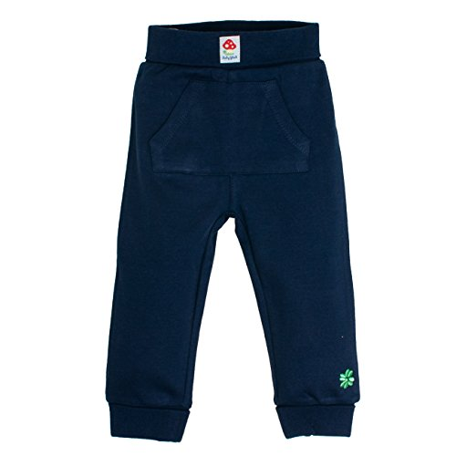 SALT AND PEPPER Baby-Jungen Jogginghose BG Trousers mit Taschen Blau (Navy Blue 450), 62