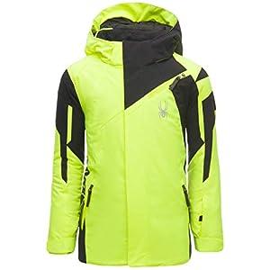 Spyder Challenger Kinder Ski Jacke – gelb